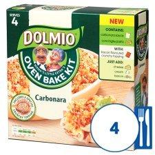 Dolmio Oven Bake Kit Carbonara Half Price £1.74 @ Tesco