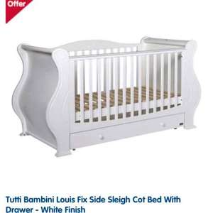 Tutti bambini louis cot bed £319 delivered @ Boots