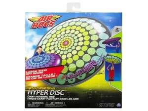 Air Hogz Hyper Disc £1.50 each and 3for2 in Tesco so £1 each rrp £12.49 @ Tesco in store only