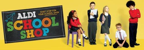 ALDI - Back to School. Uniform Sale - Full set for £3.44