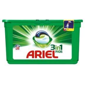 Ariel 3 in 1 Pods Regular Washing Tablets, 114 Washes £10.45 S&S @ Amazon