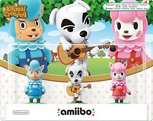 Animal Crossing 3 Pack (Reese + K.K. Slider + Cyrus) amiibo at Amazon for £10.54 (Prime)