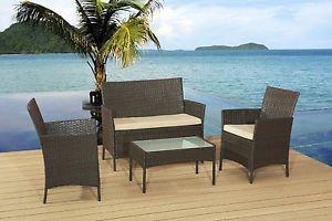 Rattan effect patio set £89.95 free delivery @ gardenrattanfurnitue4uuk EBay