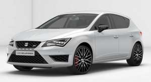 "Seat Leon Cupra 290bhp 5dr - heated leather seats, sat nav, 19"" alloys, bluetooth phone prep, parking sensors, dynamic chassis control, auto lights/wipers, climate control etc. - £2400 deposit & £132/month - 2 yr lease - 5k pa @ FVC"