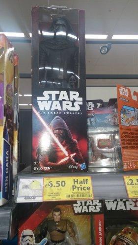 star wars figures was £13 now £6.50! @ tesco - Tottenham/Edmonton