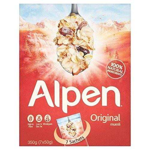 Alpen 7 x 50g sachets - original and no added sugar - £1 Home Bargains