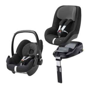 """Free"" Maxi-Cosi Isofix Base when you buy a Maxi-Cosi Pebble Baby Car Seat and a Maxi-Cosi Pearl £350 was £525 instore @ Mothercare"