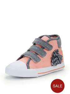 Ladybird Girls Anisha Pretty Hi Tops  (was £16.00) Now £6.50 C&C at Very (more in 1st comment)