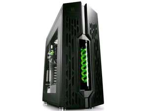 Deepcool Genome Mid-ATX PC Case with Liquid Cooling - Green/Red £169.98 @ Ebuyer