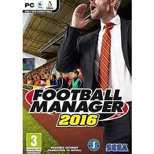 Football Manager 2016 £12.99 @ Argos