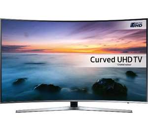 "SAMSUNG UE43KU6670 Smart 4K Ultra HD HDR 43"" Curved LED TV £649 @ Currys"