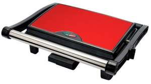 Stainless Steel 3 Slice Panini Sandwich Press & Health Grill for £18.99 with free delivery. Sold by elexltd @ eBay