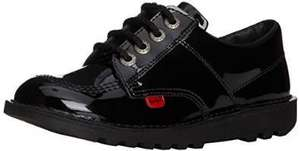 Amazon Kickers Girls School Shoes Black Patent from £14.40 (+£4.75 non-prime)