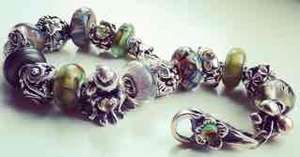 Trollbeads: Buy any decorative lock before the end of July 10th and receive a silver bracelet, free.