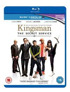 Kingsman - The Secret Service Blu Ray £4.80 Delivered [£2.80 with £10 Spend] @ Xtra-Vision