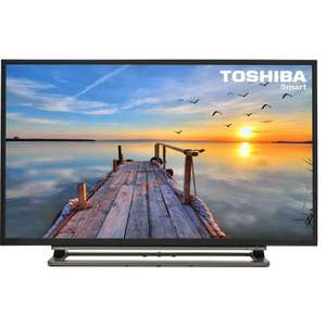 "Toshiba 48U7653DB  48"" 3D LED Smart TV - 4K UltraHD £325 Staples"
