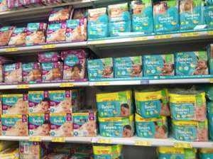 Pampers Nappies buy 1 get 1 free £4 at tesco