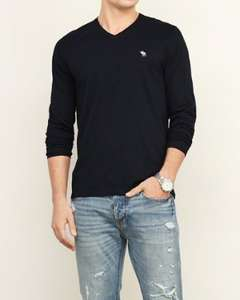Abercrombie & Fitch Long Sleeve V-Neck Tee £11 and many more