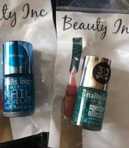 nails inc varnishes £1 poundland