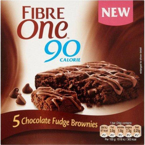 Fibre One 90 Calorie Chocolate Fudge Brownies (5 x 24g) was £2.89 now £1.50 @ Asda