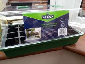 "Propagator set - ""mini greenhouse"" - £2.27 Homebase"