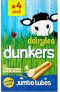 Dairylea Dunkers at Morrisons  Pack of 4 were £2.24 now on offer at