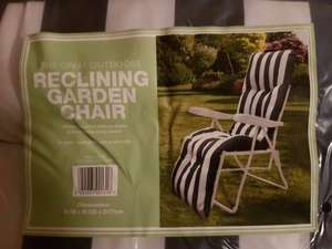 Reclining garden chair/ sun lounger @ Co-Op Was £40 now £10, in store only