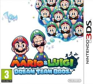 Mario and Luigi: Dream Team Bros. (Nintendo 3DS) £10.75 (Prime) / £12.74 (non Prime) @ Amazon