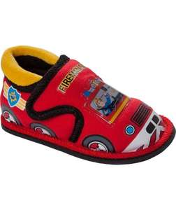 fireman sam slippers size 5-9 available £2.39 Argos