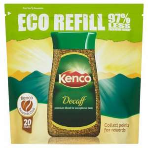 kenco instant coffee 150g refills - rich, smooth and decaf. - £3 Morrisons