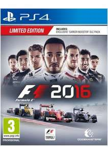F1 2016 Limited Edition - Includes Career Booster DLC Pack on PlayStation 4 Xbox One £38.85 @ Simply Games