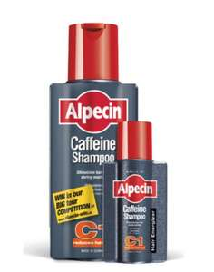 Alpecin Caffeine Shampoo - 250ml Bottle + a FREE 75ml bottle - £4.39 with code at lookfantastic.com