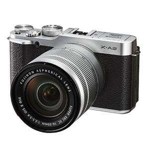 FUJI X-A2 Compact System Camera with XC 16-50 mm f/3.5-5.6 Zoom Lens - Silver - NEW, £299 @ Currys Ebay store