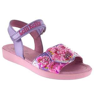 Lelli Kelly Children's Beaded Leather Rip-Tape Sandals, £22 plus £2c&c John Lewis