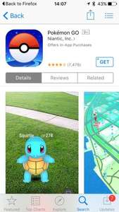 Pokémon GO [For iOS and Android] Free To Play