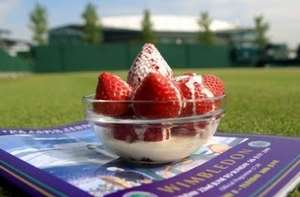 Free strawberries and cream for HSBC customers @ Wimbledon