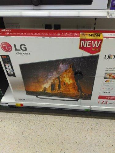 "LG 49UF675V 49"" 4K ULTRA HD DVR TV £380 @ ASDA"