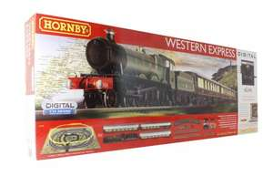 Hornby R1184 Western Express digital train set with eLink with TTS sound £125 @ ehattons models