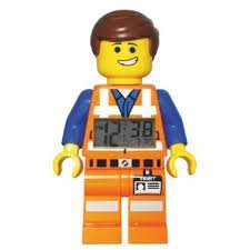 LEGO Movie Emmet Figure Alarm Clock (was £19.99) Now £7.99 at Argos