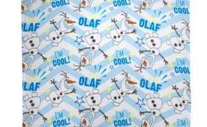Disney Olaf fleece blanket £3.85 at Argos