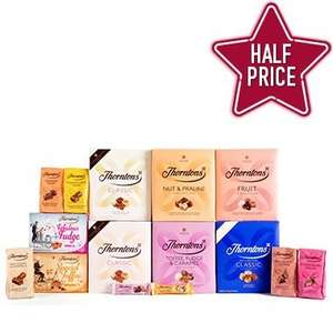 Thorntons Essentials Bundle Was £60.00 Now £30.00 delivered - Half Price If You Use This Code