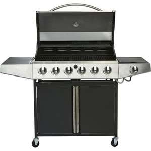 Iowa 6 Burner Gas BBQ - Delivery or Collection £149.96 @ Homebase