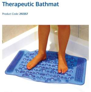 Therapeutic Bathmat reduced at £1.99 at B&M in stores