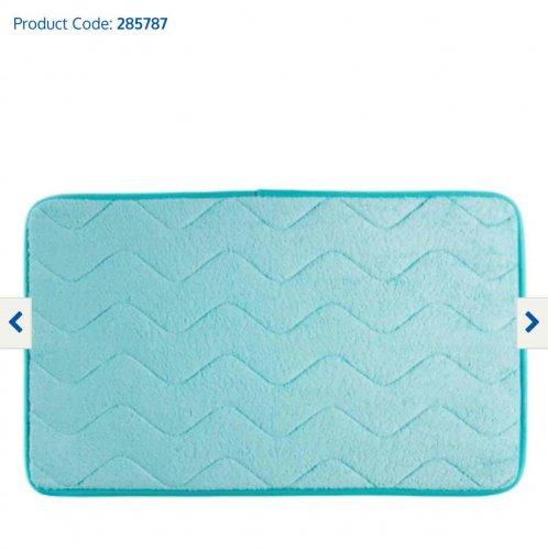 B&M Microfibre Ultra Absorbent Bath Mat Product Code: 285787 reduced @ 10p (Pink, Aqua, Teddy)