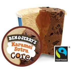 Ben & Jerry's Core Karamel Sutra / Blondie Brownie / Dough-ble Impact / Cookie Core What-a-Lotta Chocolate / Cookie Core Utter Peanut Butter Clutter / Cookie Core Speculoos? Specu-Love Ice Cream £2.24 @ ASDA