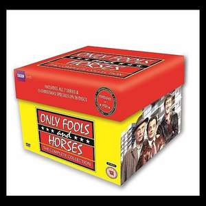 Only Fools and Horses Complete Collection inc 1-7 series & 15 specials over 26 discs from Tesco £35