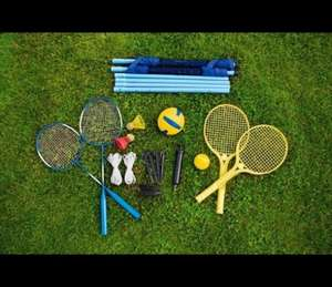 Chad Valley Tennis, Badminton and Volleyball Set for just £11.99, C&C, WAS 14.99 @ Argos