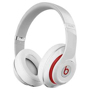 Beats™ by Dr. Dre™ Studio Noise Cancelling Full-Size Headphones with Microphone, White at John Lewis for £169