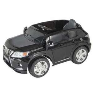 Lexus RX350 12V Kids Ride On Car Black With LED Headlights £69 Del @ Tesco Ebay