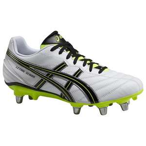 Asics Lethal Scrum Men's Rugby Boots, White/Yellow £15.00 + £2 click & collect @ John Lewis